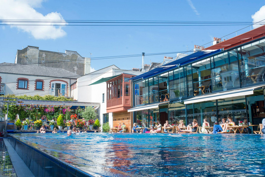 clifton lido outdoor swimming