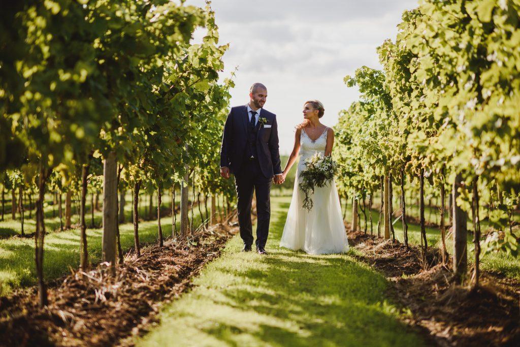 Somerset vineyard wedding
