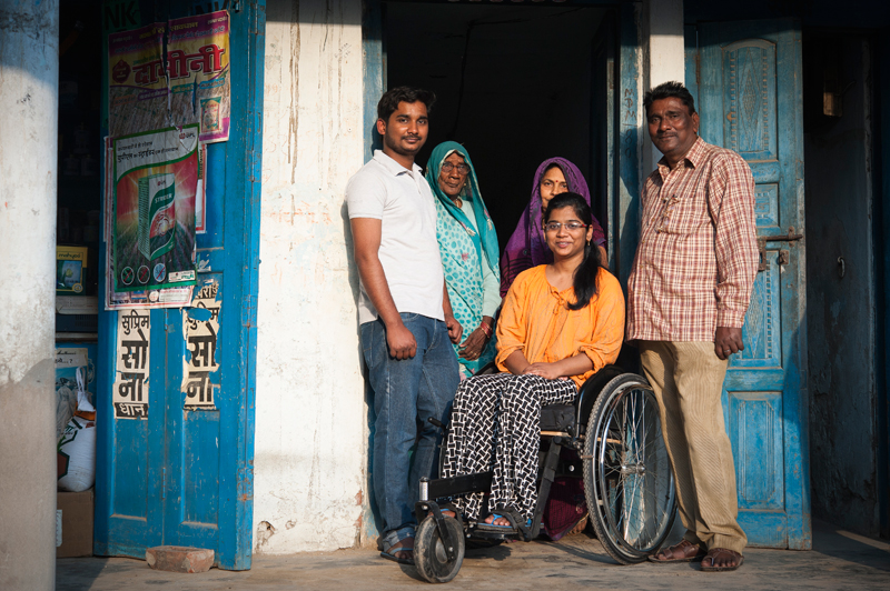 Making a difference for underprivileged countries with wheelchair accessibility, Mr Motivation