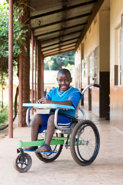 Wheelchair for children to help with schooling, Mr Motivation