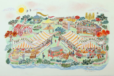 Wells Food Festival with Charlie Bigham's